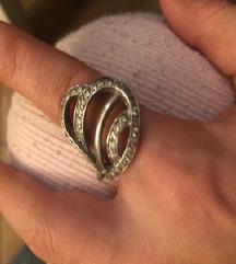 Srebrni Prsten velik pun 925
