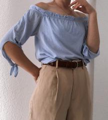 Plava bluza