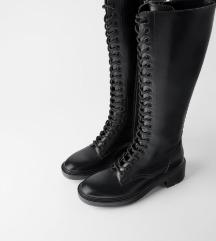 Zara čizme (chunky boots), br. 39.