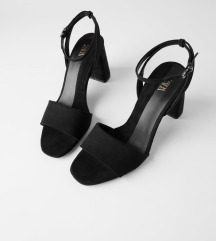 Zara block heel sandale