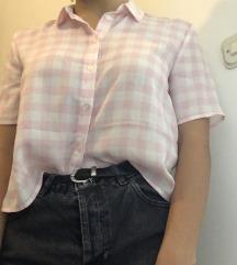Karirana bluza
