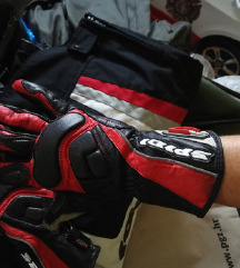 Motoristicke rukavice