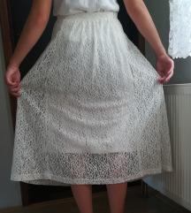 Duga bijela suknja 42