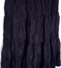 🌞 Šira duga suknja zgužvanog efekta