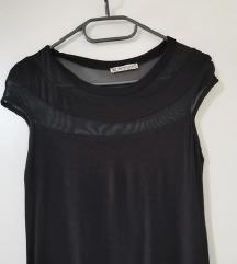 Crna pamučna haljinica