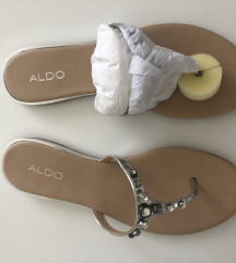 Aldo srebrne natikače s detaljima