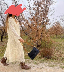 Zara haljina šljokice