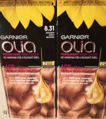 2x Garnier olia Golden ashy blonde 8.31