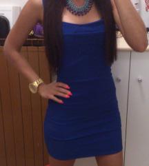 Bandage royal blue haljina