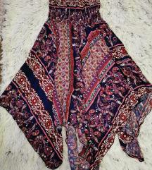 Ženska asimetrična haljina