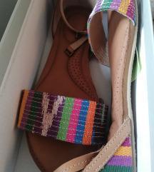 Ženske kožne sandale 37.5
