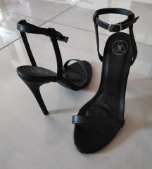 missguided sandale na visoku petu