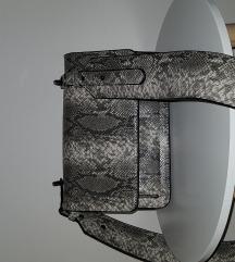Mohito torbica sa zmijskim uzorkom