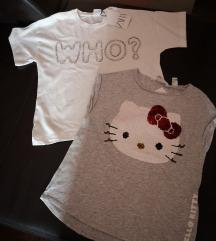 Nove majice Zara i H&M 128/134
