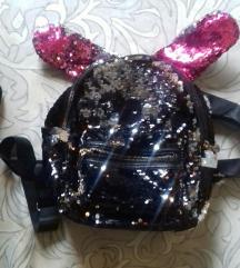 Dječji ruksak sa šljokicama