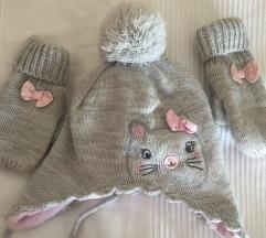 Kapa i rukavice - maca