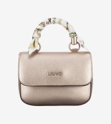 Liu jo mini zlatna torbica