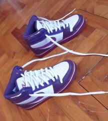 Nike ljubičasto bijele tenisice