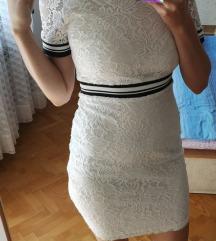 Amisu nova cipkasta haljina