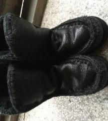 Mou kožne čizme