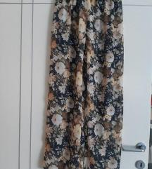 NOVO hlače sa cvjetnim uzorkom