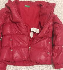 Benetton pernata jakna 11/12 godina