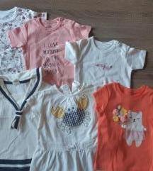 Ljetni lot nove,nenošene odjeće 68/74
