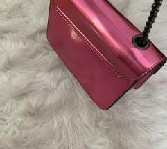 Sweet reflective pink bag