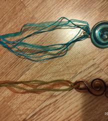 Ogrlice sa staklenim privjescima