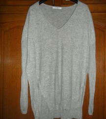 sivi tanji pulover vel. XS-S