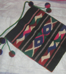 torba etno ručno tkana