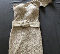 Bež haljina, cijena sa uključenom pt!