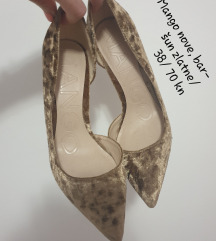 AKCIJA Mango zlatne cipele