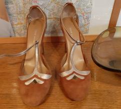 DKNY cipele konjak boje