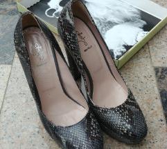 Stikle cipele zmijski uzorak prava koza Humanic