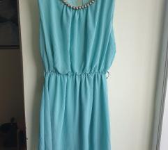 Ljetna tirkizna haljina