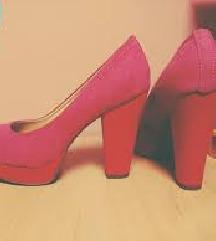 Catwalk Deichmann pink platforme 40