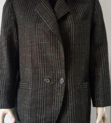Ženski kaputić na kocke od štofa - br L - XL