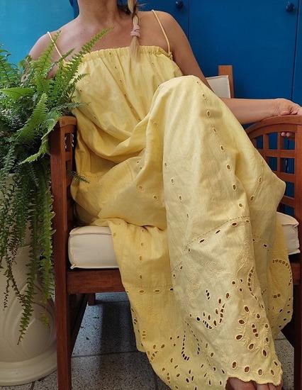 Zara duga ažur haljina