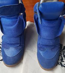 Isabel Marant Blue Wedge