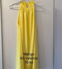 Žuta haljina - Mango