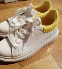 Bijelo žute tenisice na punu petu! Novo!!!