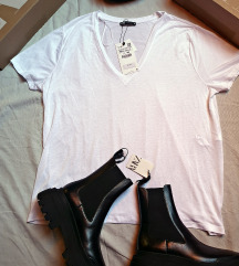 majica od liocelnih vlakana xxl Zara