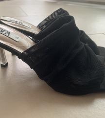 Zara 'square toe shoes'