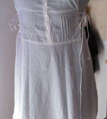 Bijela pamučna haljina