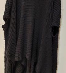 Pleteni asimetrični džemper