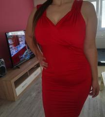 Sexy crvena haljina nova