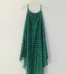 Zeleni top na točkice, Zara