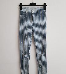 Nove ZARA hlače na prugice