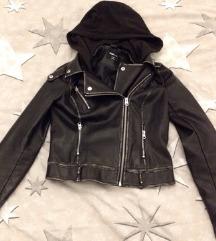 Nova jakna, S, tamnosmeđa